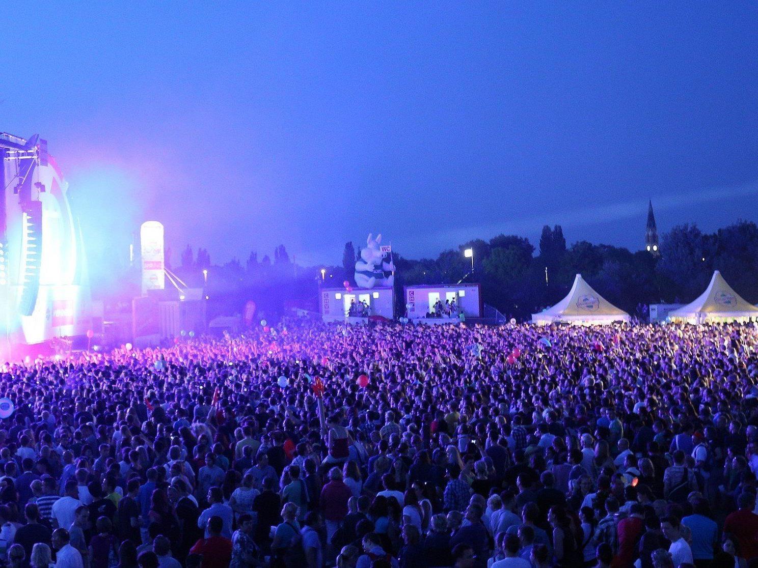 Das Line-Up zum diesjährigen Donauinselfest 2013 steht fest.