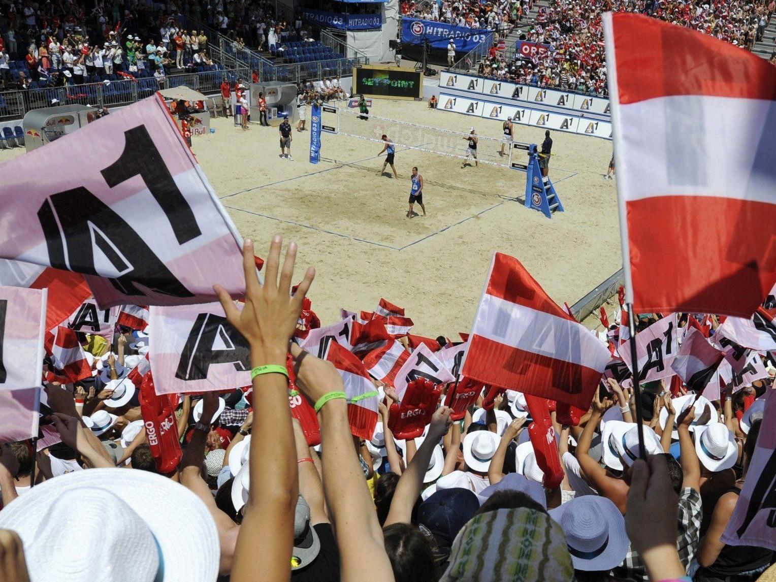 Österreichs Volleyballer freuen sich auf die Heim-EM in Klagenfurt.