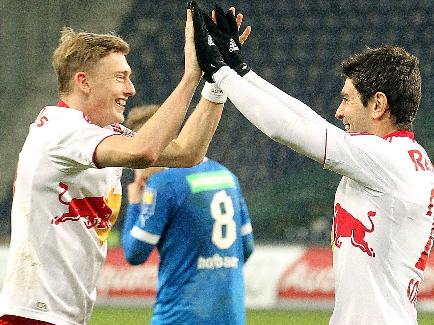 Wir berichten am Sonntag ab 16 Uhr live vom Spiel SC Wiener Neustadt gegen Red Bull Salzburg.