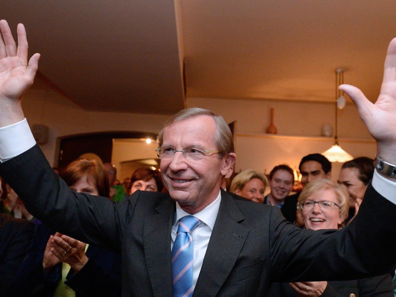 Die ÖVP steht auf Platz 1 der Landtagswahl in Salzburg 2013.