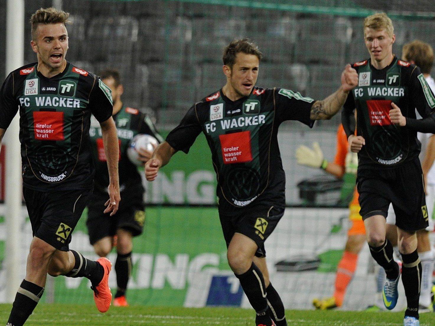 Wir berichten ab 16.00 Uhr in unserem Live-Ticker vom Spiel WAC gegen FC Wacker Innsbruck