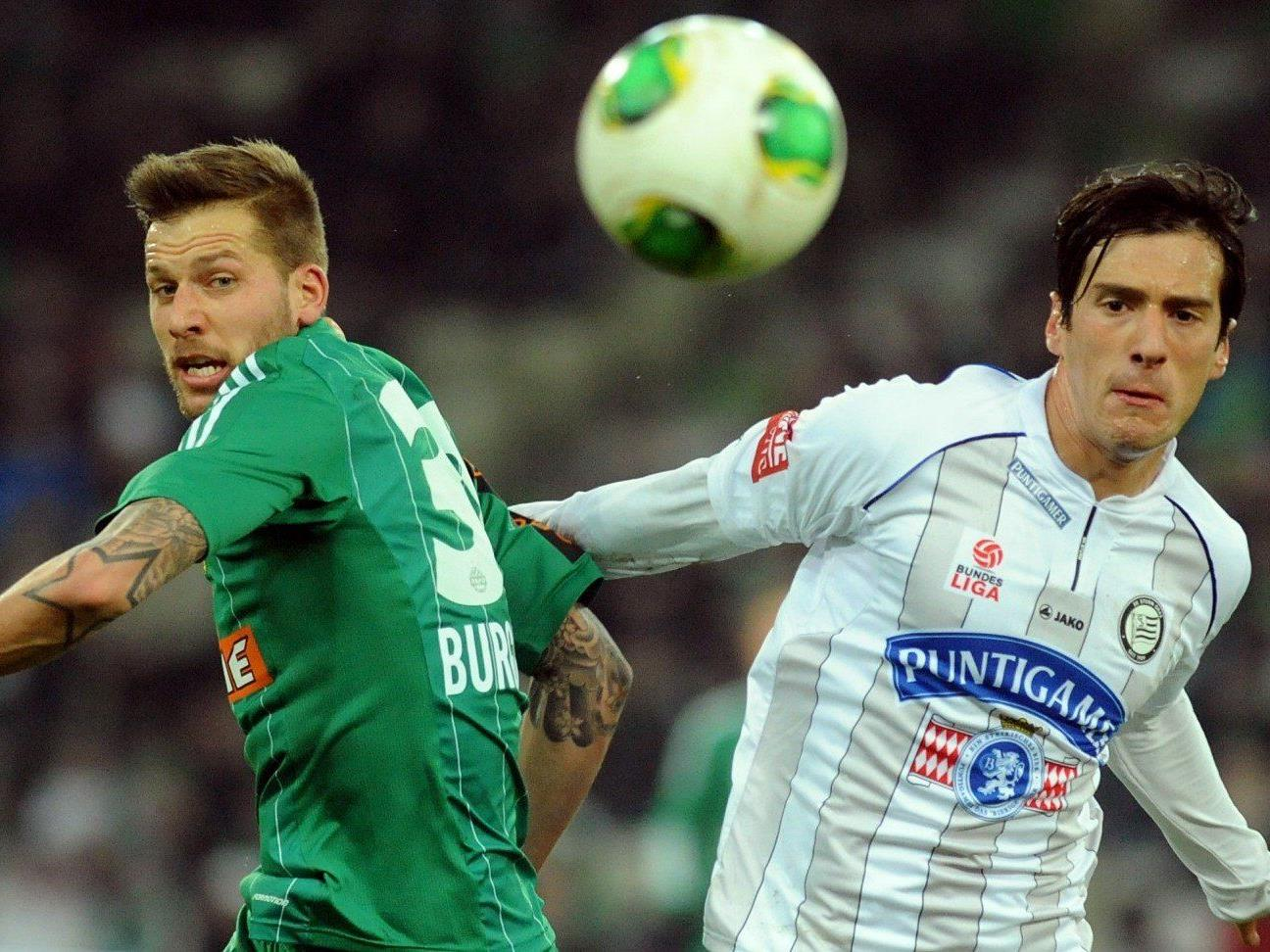 Wir berichten live vom Spiel SK Sturm Graz gegen SK Rapid Wien im Live-Ticker.