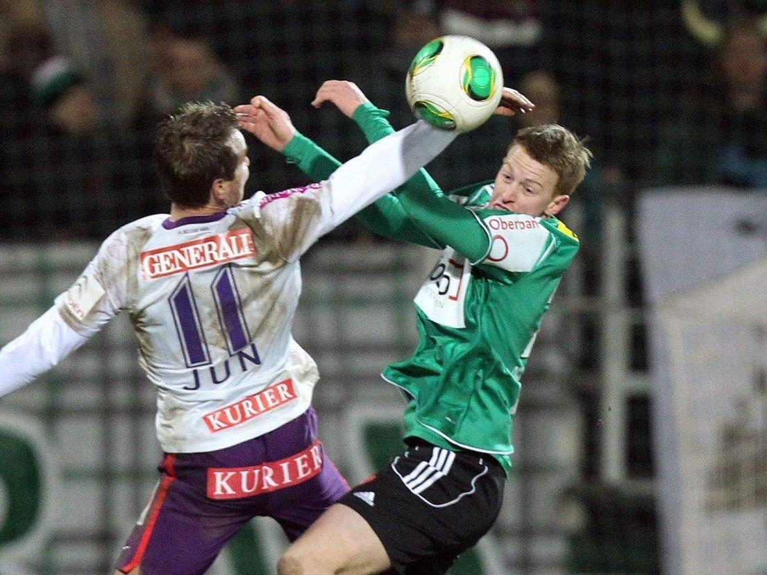 Wir berichten live vom Spiel FK Austria Wien gegen SV Ried.