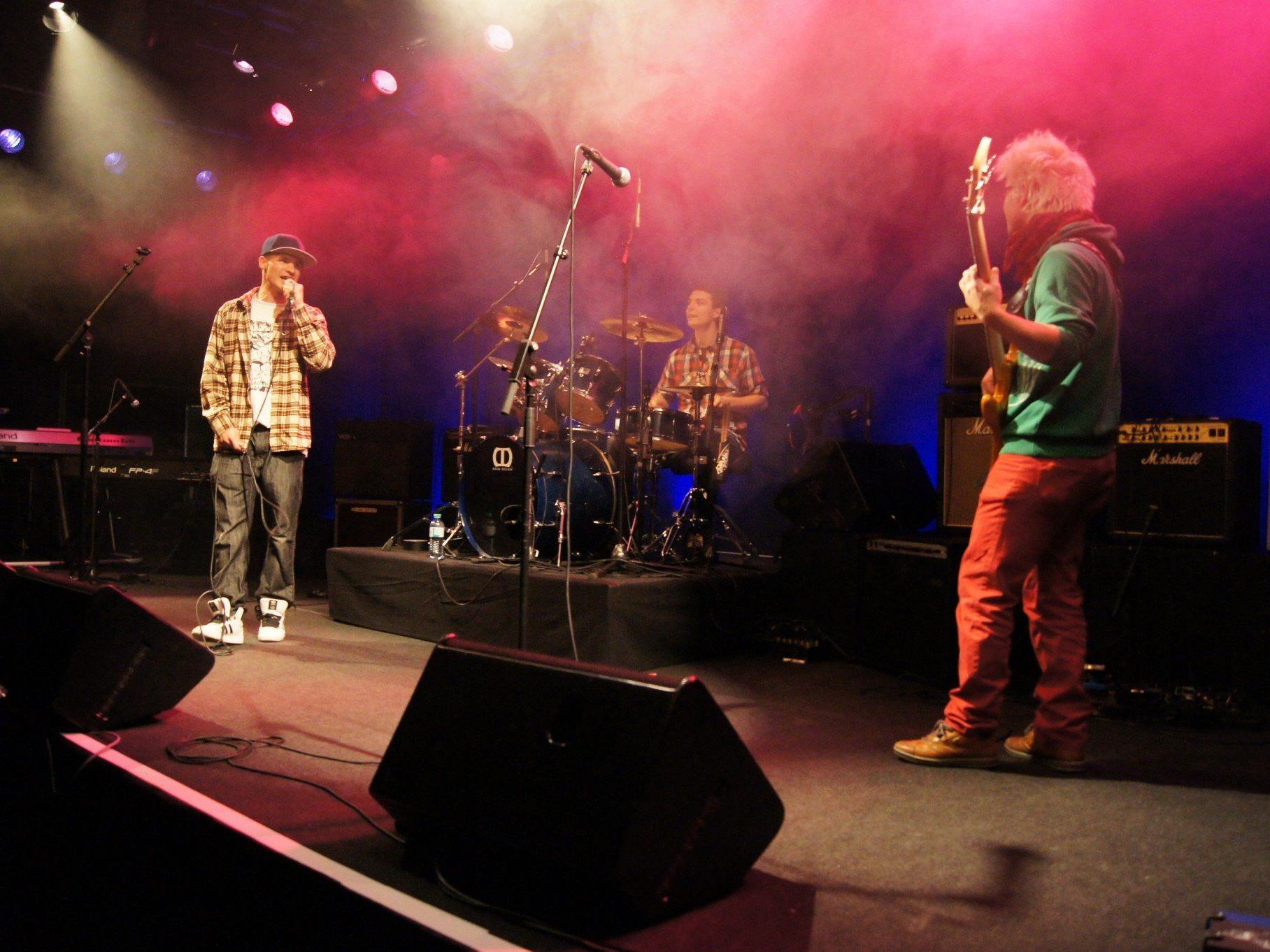 Talentierte Bands präsentierten ihre Musik.