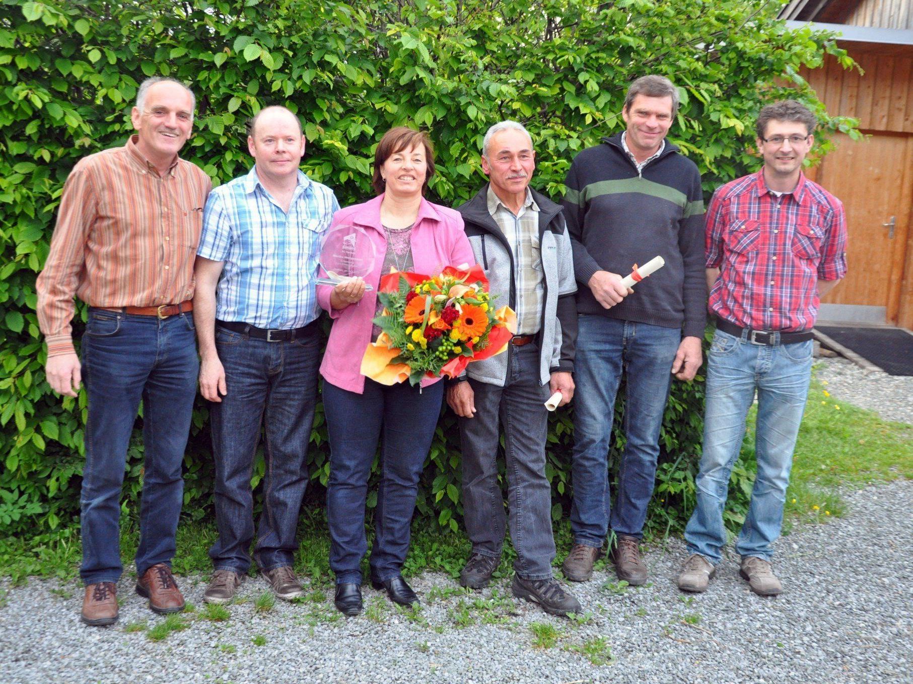 Anläßlich der 60-Jahres-Feier wurden verdienstvolle Mitglieder des RC Dornbirn geehrt.