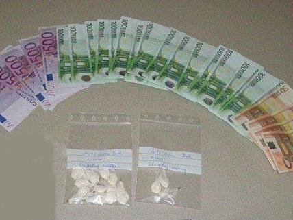 Diese Geldscheine und Drogen fand man bei dem mutmaßlichen Dealer