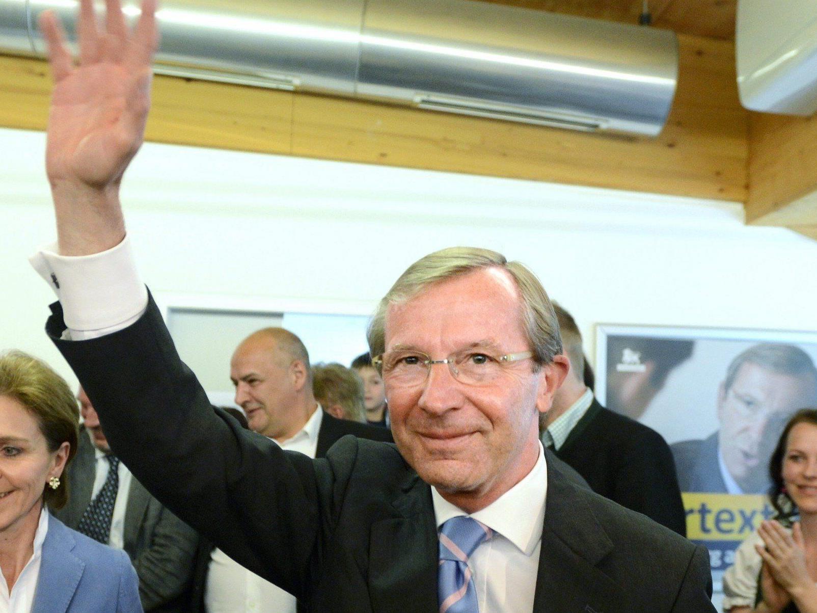 Wilfried Haslauer will nach der Landtagswahl in Salzburg mit allen Parteien sprechen.