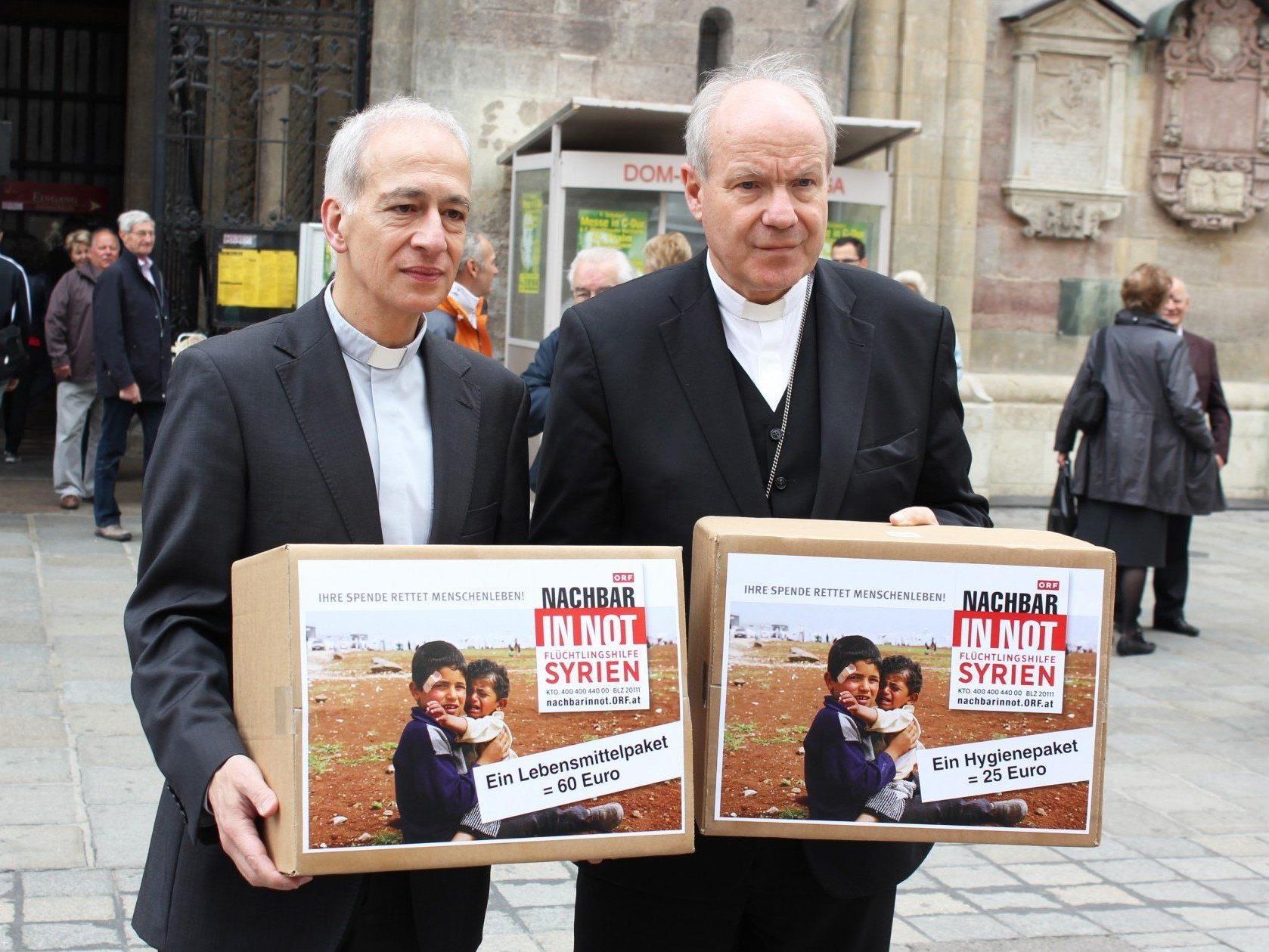 Kardinal Schönborn appelliert an alle: Syrien braucht Hilfe.