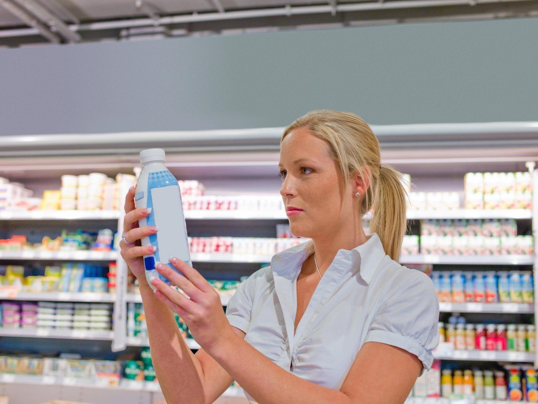 Bei laktosefreien Produkten muss oft tief in die Tasche gegriffen werden.
