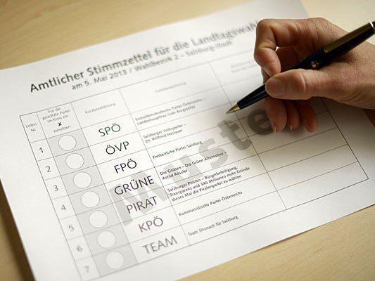 Für die Salzburger Landtagswahl wurden 28.369 Wahlkarten beantragt.