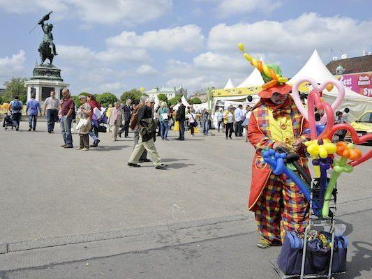 In der Wiener Innenstadt wurde bereits gefeiert - am Sonntag wandert das Wiener Stadtfest in die Peripherie