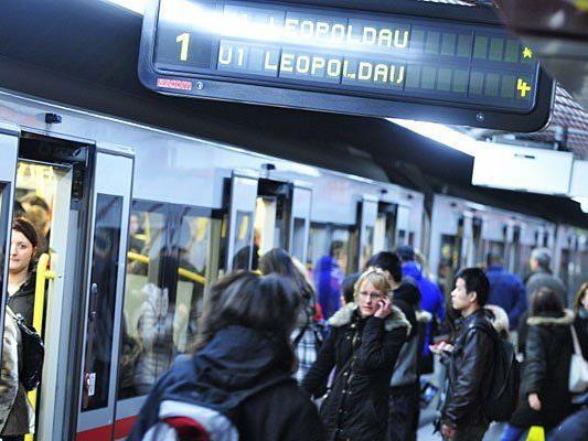 Das höchste Fahrgast-Aufkommen gibt es am Stephansplatz