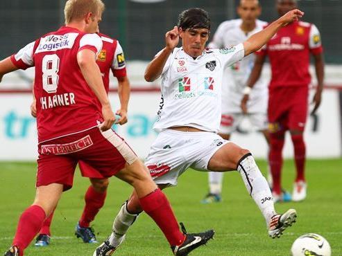 Wir berichten am Samstag ab 16 Uhr vom Spiel WAC gegen FC Admira Wacker.