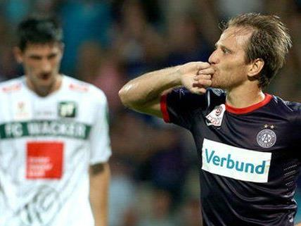 Die Austria könnte gegen Wacker einen wichtigen Schritt Richtung Titel machen.