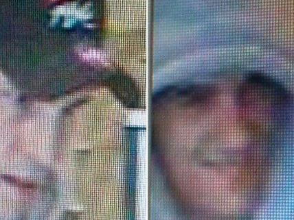 Diese Männer werden von der Polizei nach dem Bankraub im 23. Bezirk gesucht.