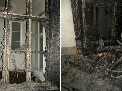 Bei dem Feuer in Wien-Josefstadt gab es mehrere Verletzte.