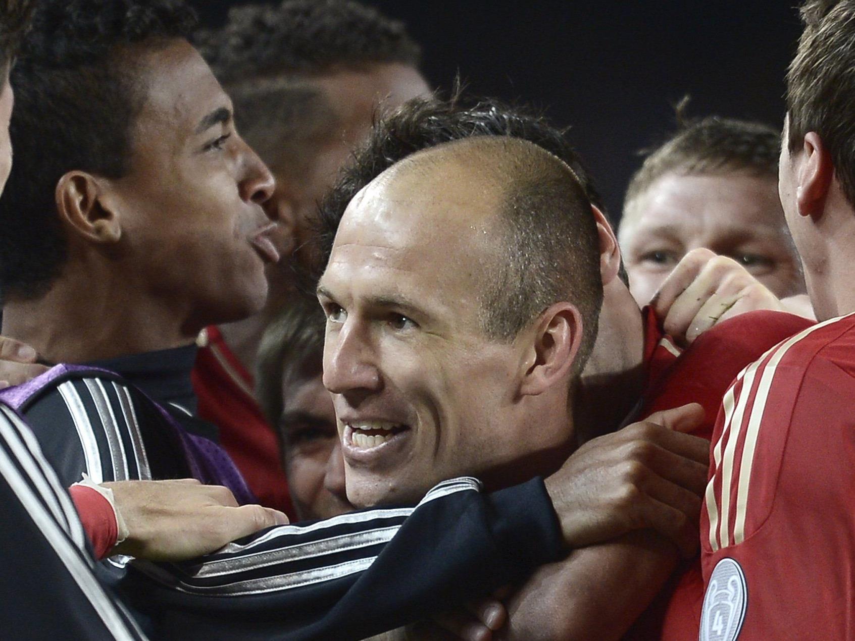 Robben machte mit dem 1:0 nach Vorlage von David Alaba eigentlich schon alles klar.