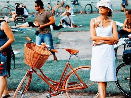 Am 9. Juni findet auf der Galopp-Rennbahn Freudenau ein Fahrrad-Picknick statt.