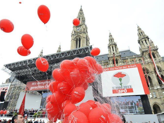 Auch in diesem Jahr nutzen die Parteien den 1. Mai in Wien, um sich zu positionieren.