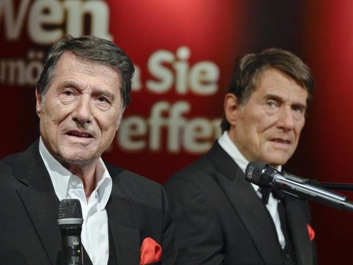 Udo Jürgens mal Zwei bei Madame Tussauds in Wien.