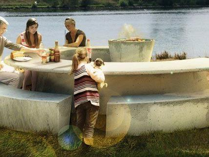 2014 sollen auf der Donauinsel neue Grill-Möbel aufgestellt werden.