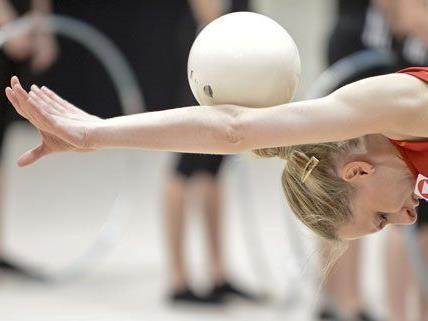 Am Freitag beginnt in Wien die Gymnastik-EM.