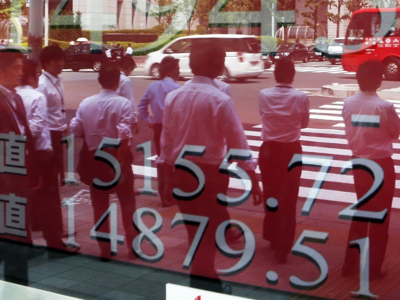 Japan wächst schneller als die USA.