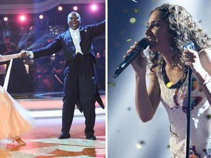 "Natália Kelly singt am Freitag für die ""Dancing Stars""."
