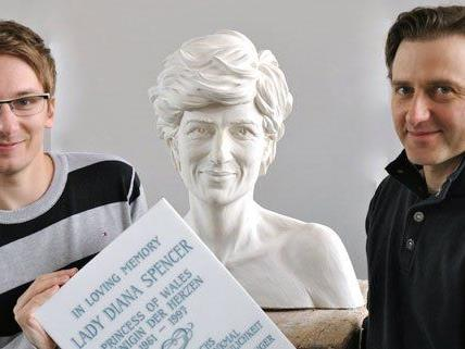 Lady Diana Büste wird erst im September enthüllt