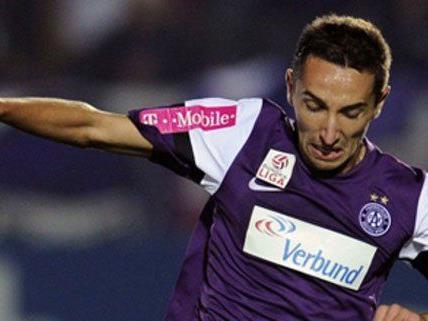 Marin Leovac hofft nun auf mehr Einsätze bei der Wiener Austria