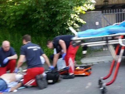 Rettungseinsatz am späten Mittwoch Nachmittag in Döbling.