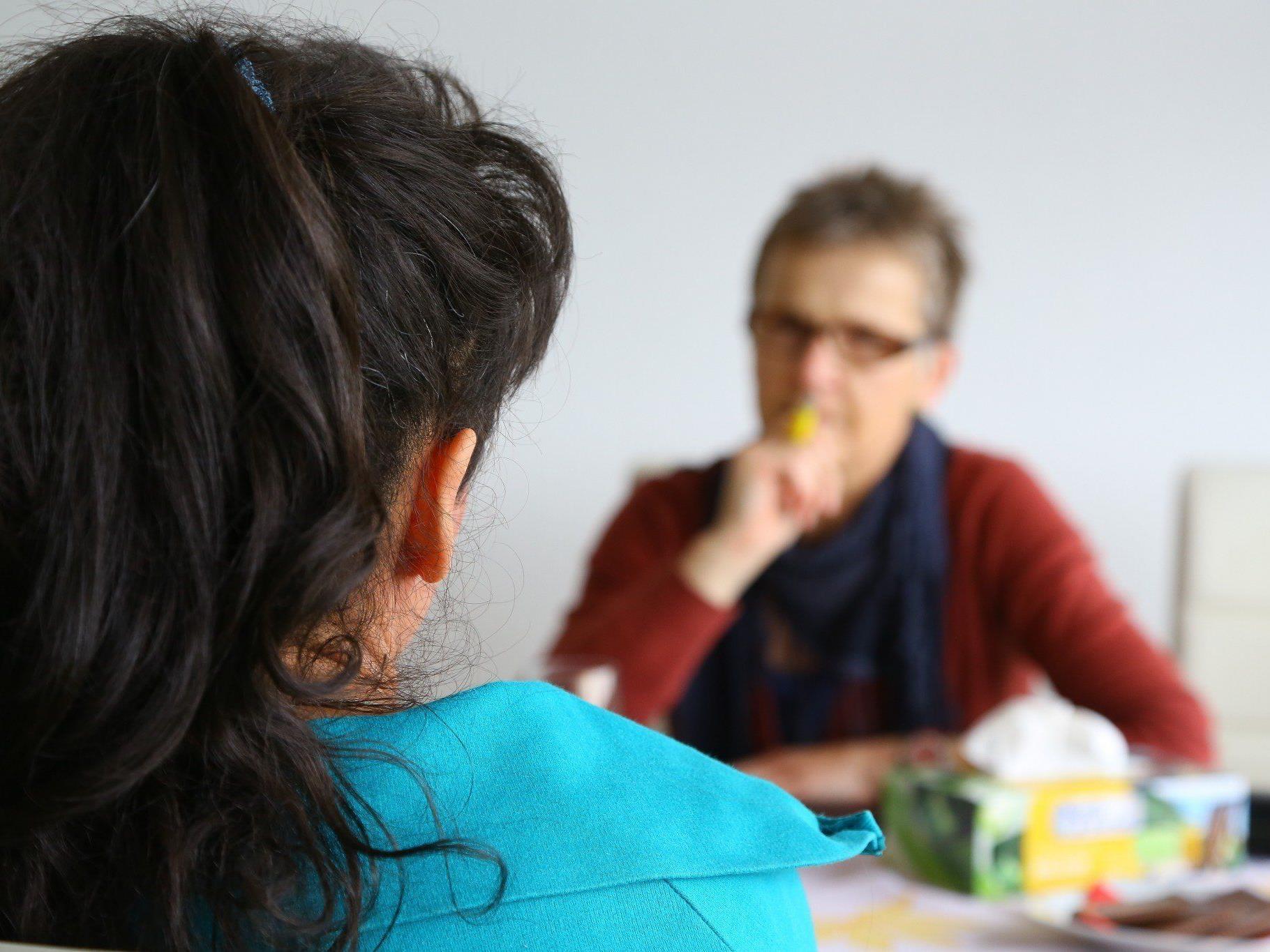 Ines (39) - im Gespräch mit VN-Redakteurin Marlies Mohr - über ihren Kampf gegen die Magersucht.