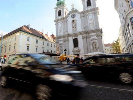 Noch sind auf der Mariahilfer Straße Autos erlaubt.