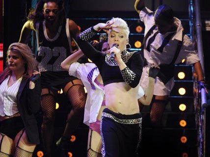 Pink gastierte mit großer Show live in der Wiener Stadthalle.