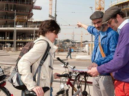 Ab dem 17. Mai werden wieder rad-Expeditionen rund um den Hauptbahnhof angeboten.