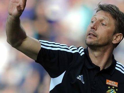 Rapid Cheftrainer Zoran Barisic bleibt zumindest noch ein weiteres Jahr im Amt.