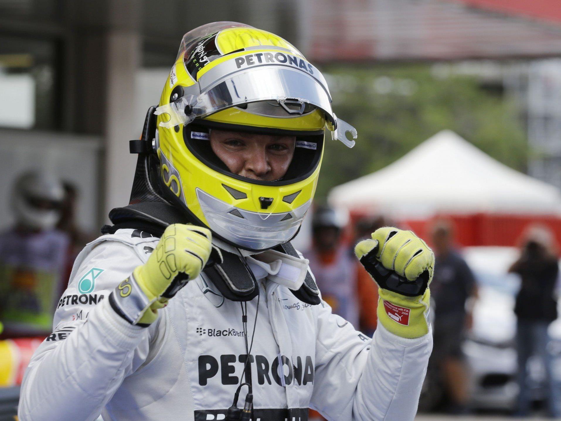 "Rosberg auf ""Pole"""