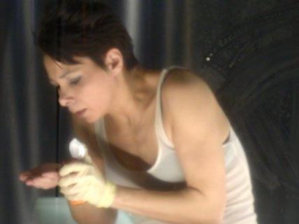 Sandra Cervik spielt die Hauptrolle in Peter Turrinis Stück.