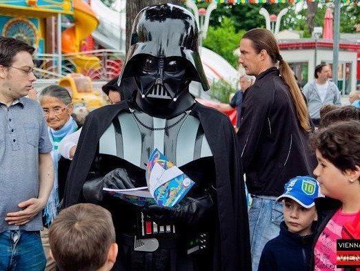 Am 15 Juni findet der 2. Science Fiction Day im Wiener Prater statt.