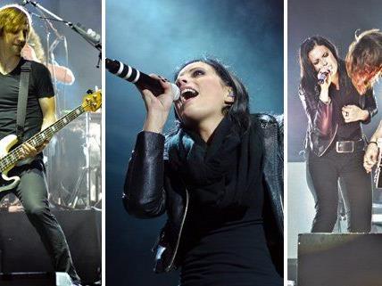 Silbermond rockten am Freitagabend die Arena Wien Open Air.