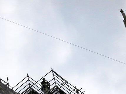 Slacklining am Stephansdom wird wie geplant am Freitag stattfinden.