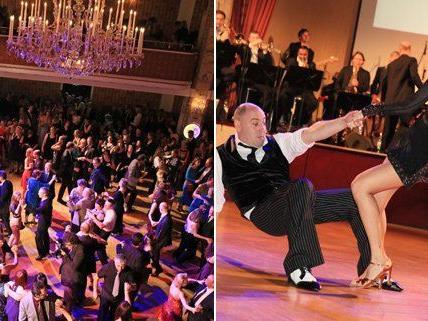 Ausgelassener Tanz-Abend im Parkhotel Schönbrunn.