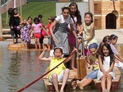 Am 7. Juni wird am Wasserspielplatz gefeiert.