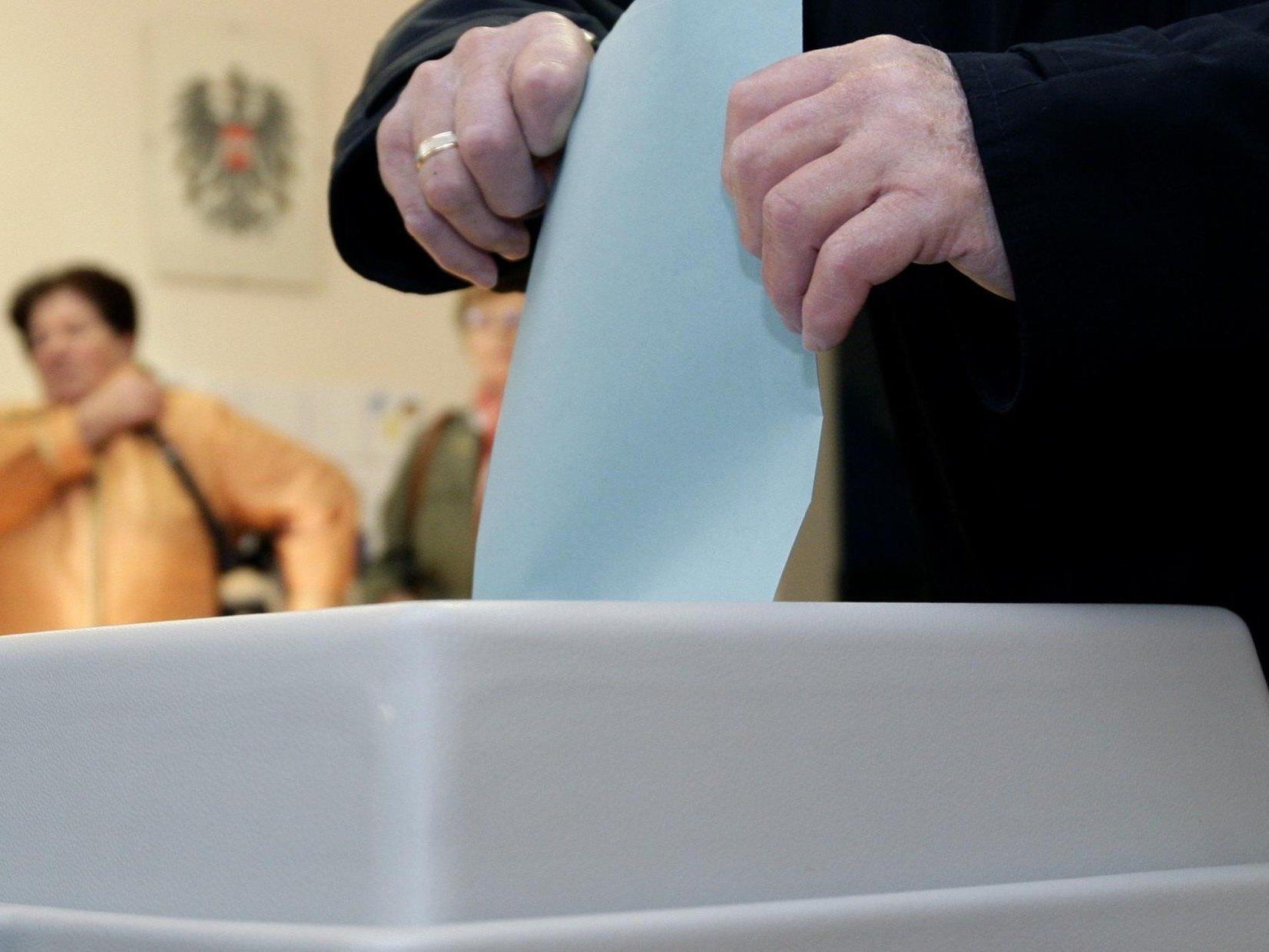 Nationalratswahl 2013: Erste Umfragen sagen eine Rot-Schwarze Mehrheit voraus.