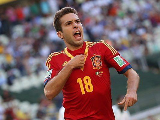 Jordi Alba war mit zwei Treffern Mann des Spiels