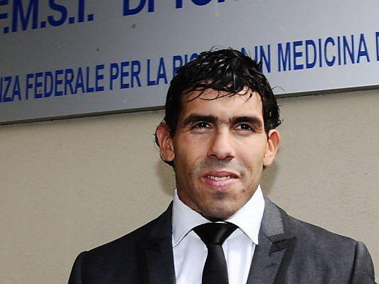 Tevez unterschrieb Vertrag bis 30. Juni 2016