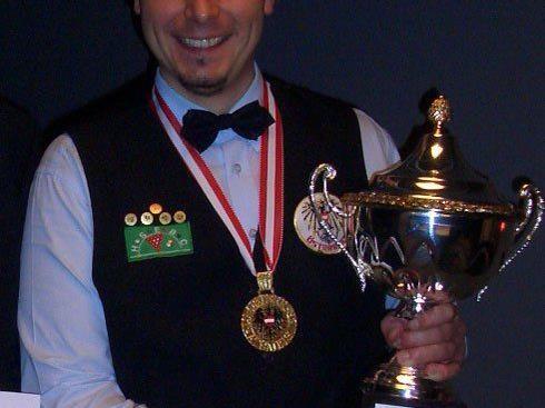 Mag. Werner Rieschl, HSEBC, Staatsmeister English Billiards/Timed