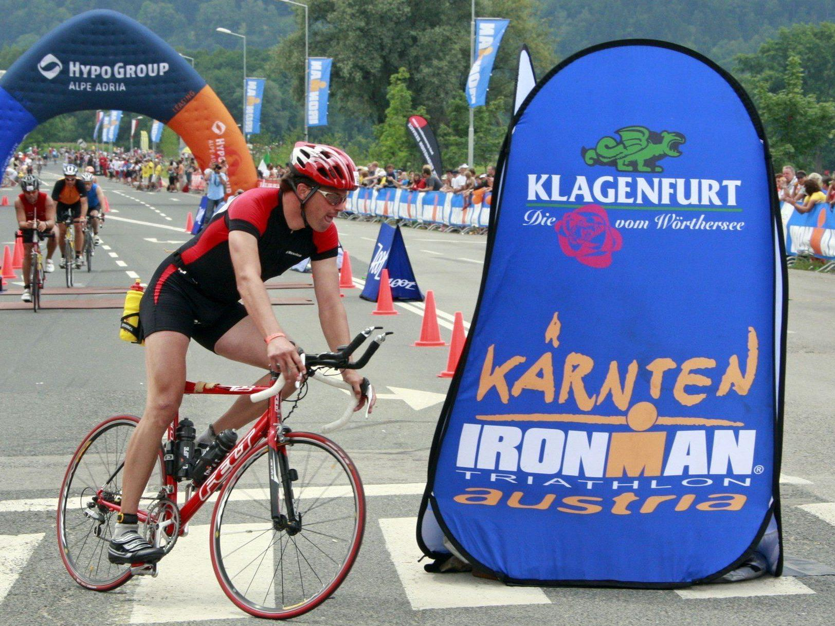 Am Sonntag findet der 15. Ironmal in Kärnten statt.