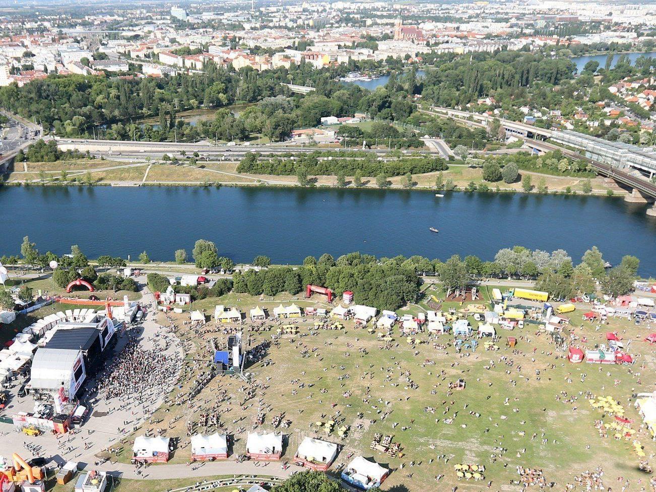 So wird das Wetter am kommenden Wochenende beim Wiener Donauinselfest 2013.