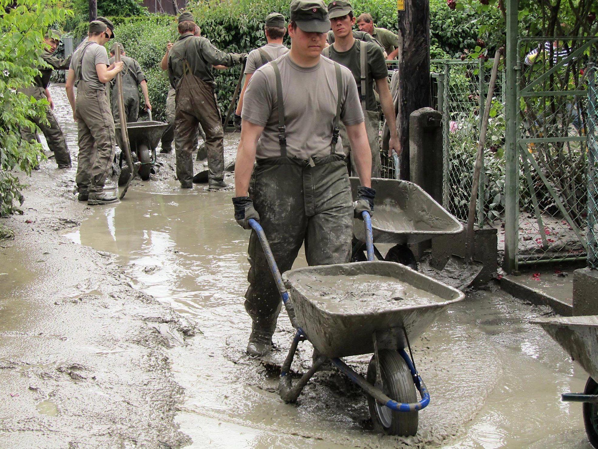Klosterneuburg wies 170 Hochwasser-Schadensmeldungen ab